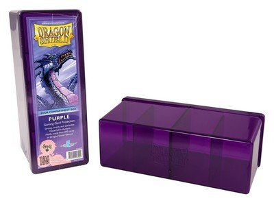 Dragon Shield Storage Box Purple
