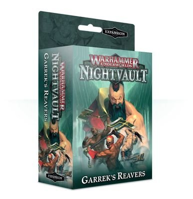 WH UNDERWORLDS GARREK'S REAVERS EXPANSION (ENG)