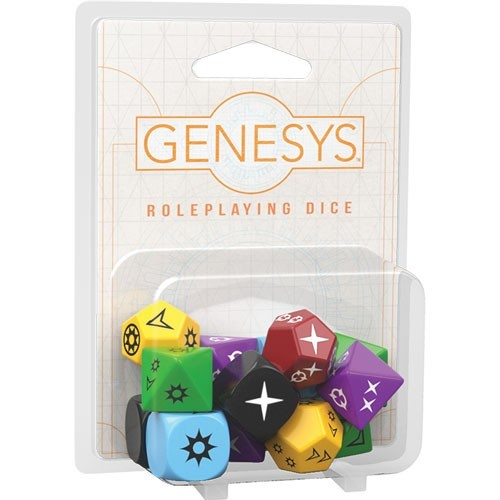 Genesys Dice Set WCPB1YJAERGHC