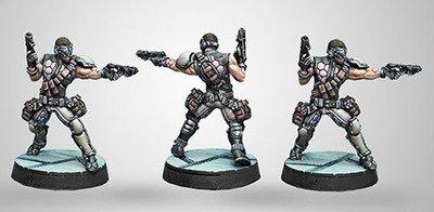 Infinity: ALEPH Acmon,Sergeant of Dactyls (2 Breaker Pistols)