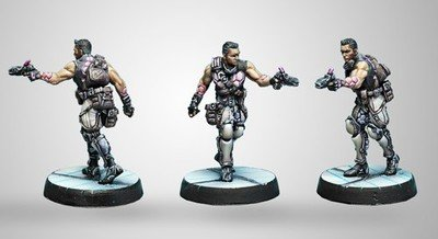 Infinity: ALEPH Dactyls, Steel Phalanx Support Corps (Doctor)