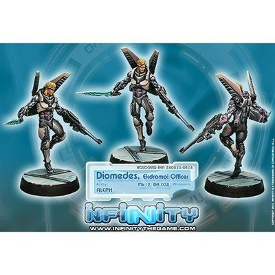 Infinity: ALEPH Diomedes, Ekdromoi Officer (Mk12, Nanopulser)