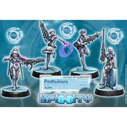 Infinity: ALEPH Posthumans