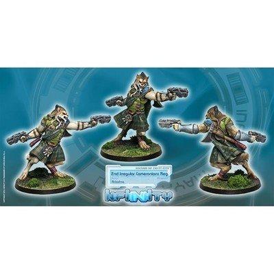 Infinity: Ariadna Cameronians (Chain Rifle, AP CCW)