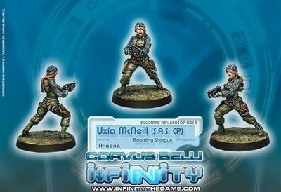 Infinity: Ariadna `Cherry` McNeill Corporal of 1st Highlanders S.A.S. (Boarding Shotgun)