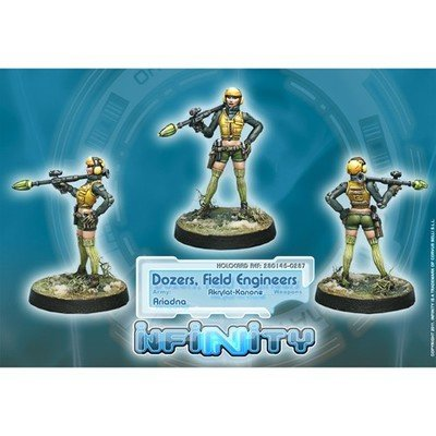 Infinity: Ariadna Dozers, Field Engineers (Akrylat-Kanone)