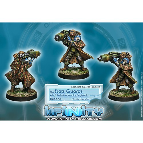 Infinity: Ariadna The Scots Guards, 6th Caledonian Infantry Regiment (ML) JE7ECVXE9ZS82