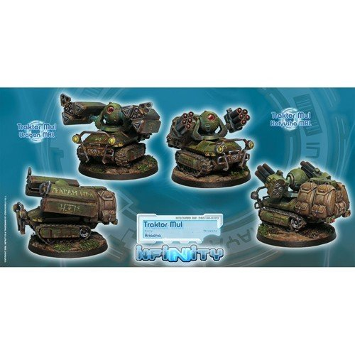 Infinity: Ariadna Traktor Muls. Regiment of Artillery and Support