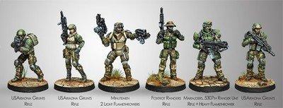 Infinity: Ariadna USAriadna Ranger Force (Ariadna Sectorial Starter Pack)