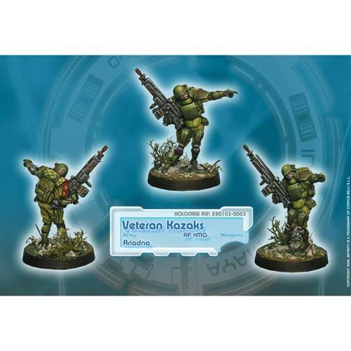 Infinity: Ariadna Veteran Kazaks (AP HMG) 3KSHRFE46H4A4