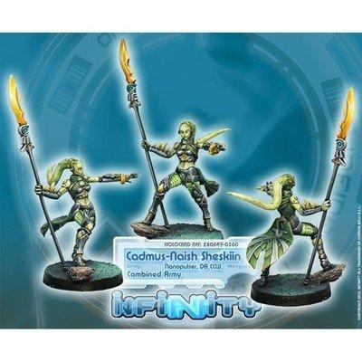 Infinity: Combined Army Agent Cadmus-Naish Sheskiin