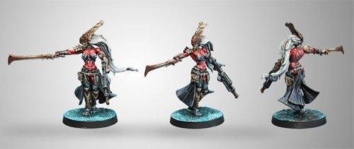 Infinity: Combined Army Oznat, Morat Hunting Regiment (Vulkan Shotgun)