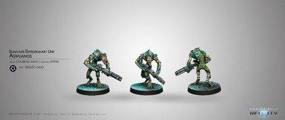 Infinity: Combined Army Shasvastii Expeditionary Unit Aswang (Spitfire)