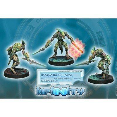 Infinity: Combined Army Shasvastii Gwailos (Boarding Shotgun)