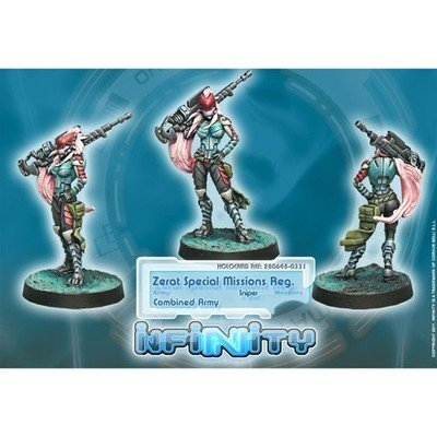 Infinity: Combined Army Zerat (MULTI Sniper)
