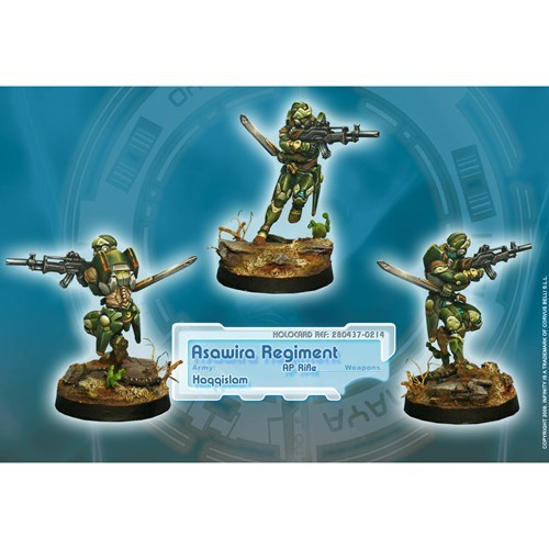 Infinity: Haqqislam Asawira Regiment (AP Rifle) 3BR9Y34WMGA16