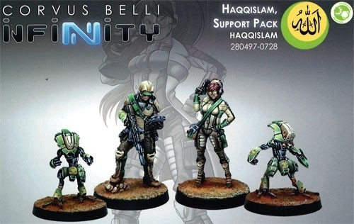 Infinity: Haqqislam Haqqislam Support Pack SYXQA7DFZMS9M
