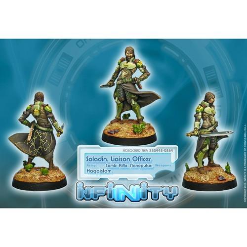 Infinity: Haqqislam Saladin, Liaison Officer (Combi Rifle) MVQRMV1CZMEQ2