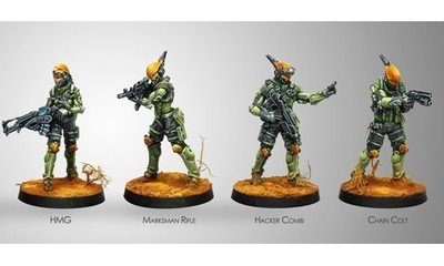 Infinity: Mercenaries Druze Shock Team