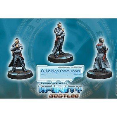 Infinity: Mercenaries O-12 High Commissioner (HVT/ Civil)