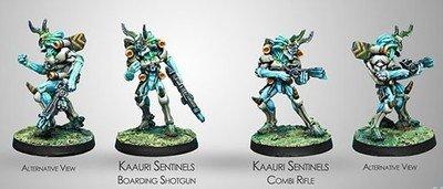 Infinity: Tohaa Kaauri Sentinels (Combi Rifle/Boarding Shotgun)