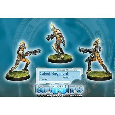 Infinity: Tohaa Sakiel Regiment (Spitfire)
