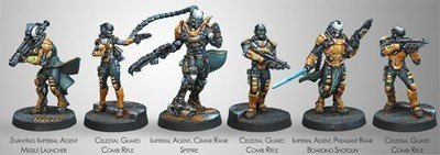 Infinity: Yu Jing Imperial Service (Yu Jing Sectorial Starter Pack)