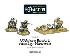 US Airborne Bazooka & 60mm Light Mortar Teams