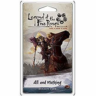 Legend of the Five Rings The Card Game: All & Nothing Dynasty Pack