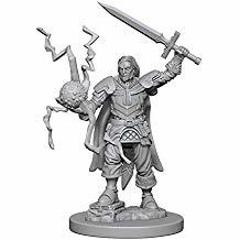 Pathfinder Deep Cuts Unpainted Miniatures: Human Male Cleric PZG0841P4DH66