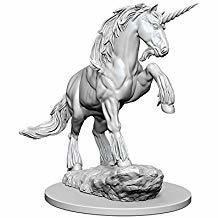 Pathfinder Deep Cuts Unpainted Miniatures: Unicorn