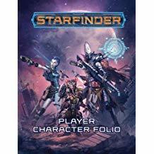 Starfinder Roleplaying Game: Starfinder Player Character Folio GP128DBKQNN74