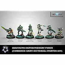 Infinity: Combined Army - Shasvasti Expeditionary Force Sectorial Starter Pack