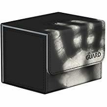 Ultimate Guard: Sidewinder ChromiaSkin Deckbox 100+: Black