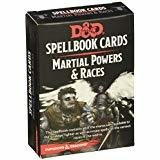Dungeons & Dragons Spellbook Cards Martial Deck
