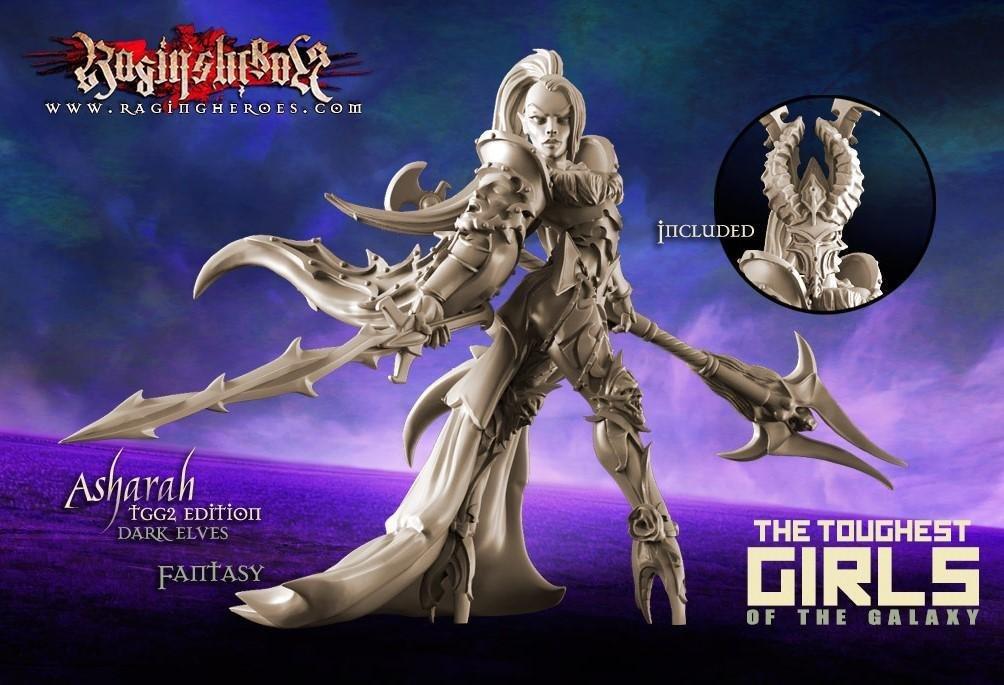 Asharah, TGG2 Edition (DE – Fantasy)
