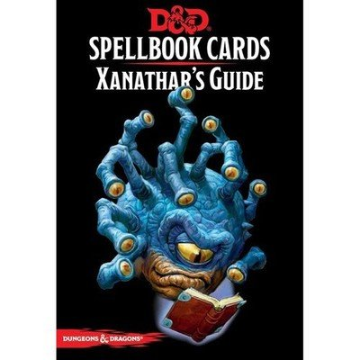 D&D: Spellbook Cards: Xanathars Guide