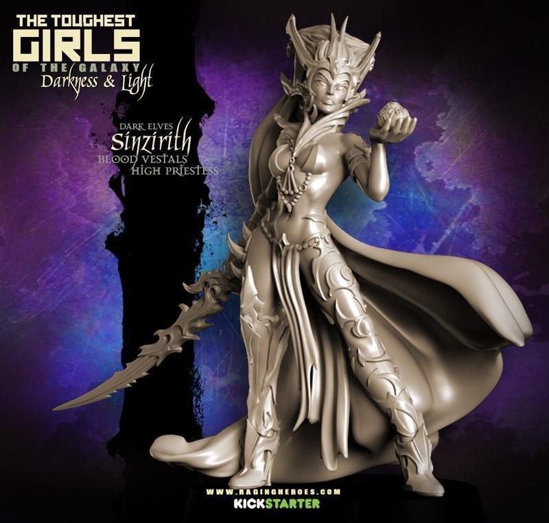 Sinzirith, Blood Vestal High Priestess (DE - F/SF)
