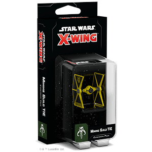 Star Wars X-wing Second Edition Mining Guild TIE