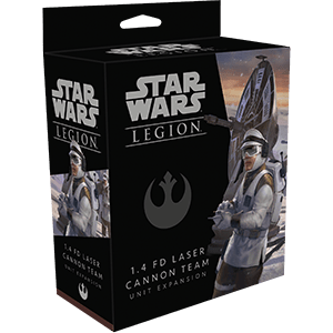 Star Wars Legion 1.4 Laser Cannon Team