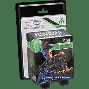 Star Wars: Imperial Assault - IG-88 Villain Pack MEK572RFY7CQ8