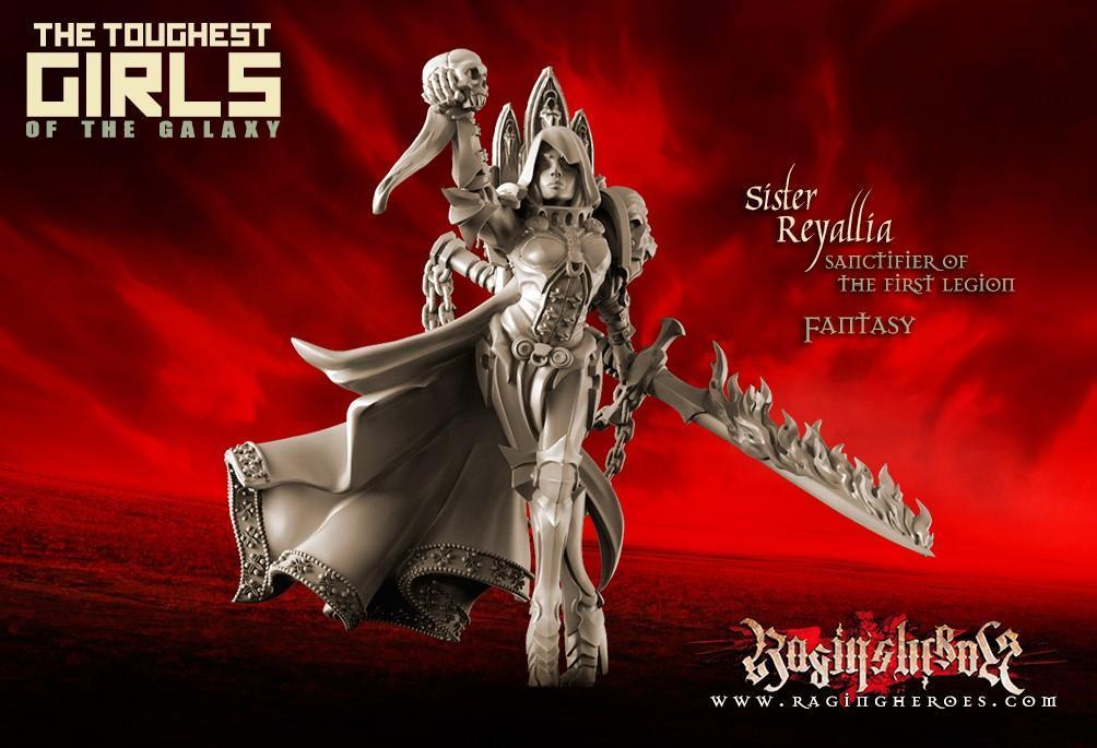 Reyallia, Sanctifier of the First Legion (Sisters – Fantasy) AX4N67QBEQWSY