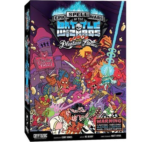 Epic Spell Wars Of The Battle Wizards Panic At The Pleasure Palace