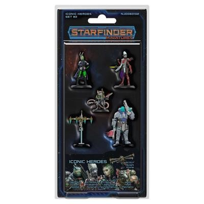 Starfinder Iconic Heroes Set 2