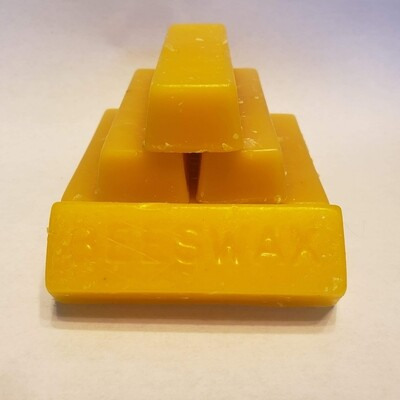 Beeswax bars 1oz