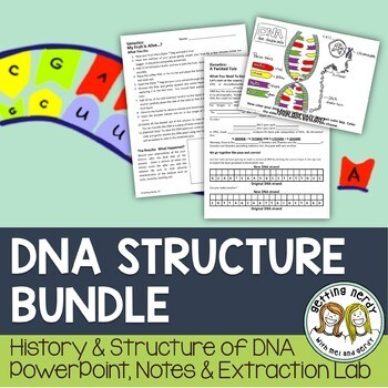 DNA Discovery and Structure - Genetics PowerPoint and Handouts
