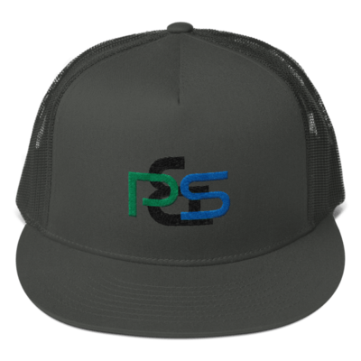 P&S Logo Mesh Back Snapback