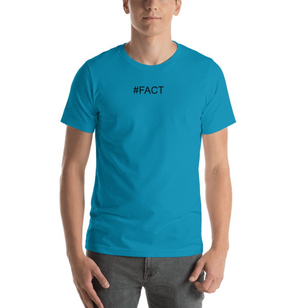 Hashtag FACT Short-Sleeve Unisex T-Shirt