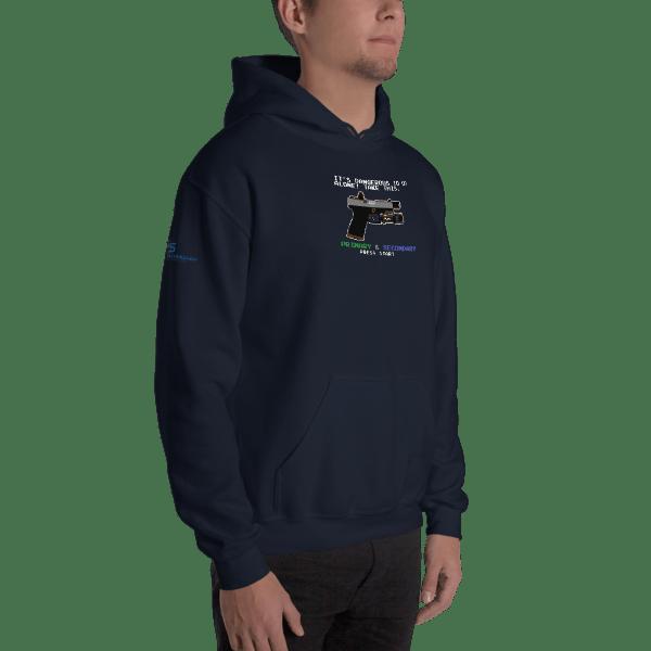 8-Bit Roland Hooded Sweatshirt 00022