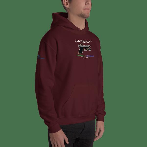 8-Bit Roland Hooded Sweatshirt